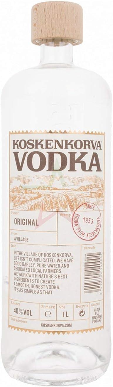 Vodka Koskenkorva Botella 1L 40º: Amazon.es: Alimentación y ...