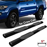 Amazon.com: Dodge Ram 1500 Quad Cab Black Side Bars / Nerf ...