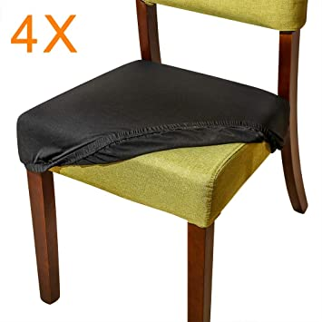 Amazon.com: Aonepro Fundas de asiento de silla, 21.0 in ...