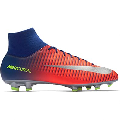 separation shoes e9443 5c71e Nike Mercurial Victory VI Dynamic Fit FG Cleats  DEEP Royal Blue  (8.5)