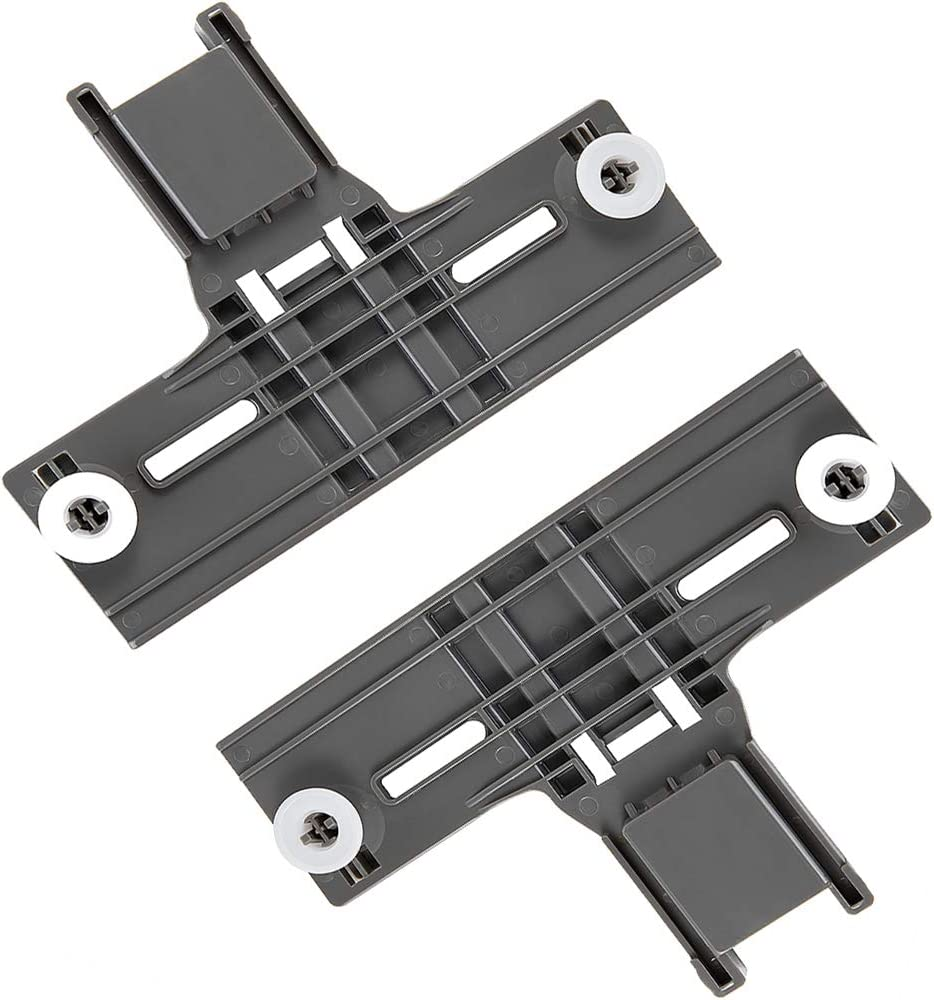 W10350375 Dishwasher Top Rack Adjuster for Whirlpool Kenmore Dishwasher Parts Replaces W10712395 W10712395VP 3516330 AP5957560 WPW10350375 (2 Pcs)