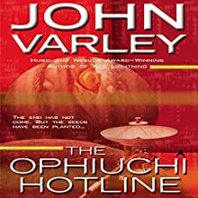 The Ophiuchi Hotline Audiobook by John Varley Narrated by Gabra Zackman