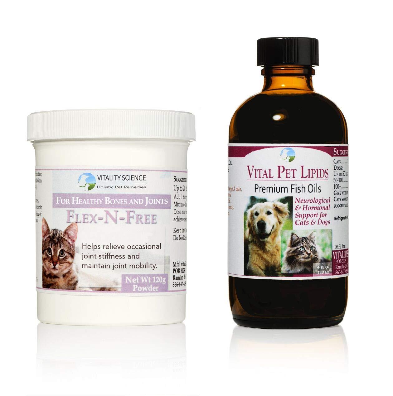 120g   4oz Flex + Lipids   Full Spectrum Joint Health for Cats   2 Part Program (120g   4oz)