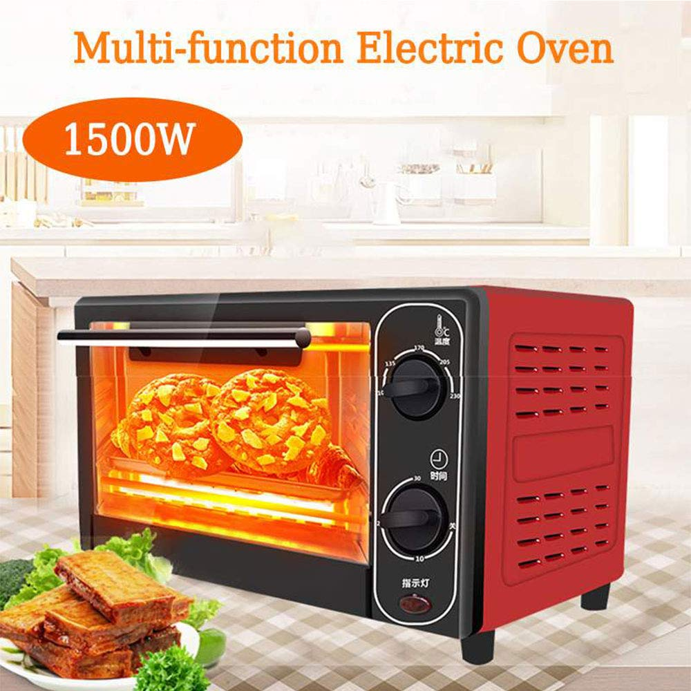LXB 1500W 20L Mini Oven, Smart Home Cooking Bread Roaster, Kitchen Bread Toaster, Suitable for Families, Restaurants, Pastries