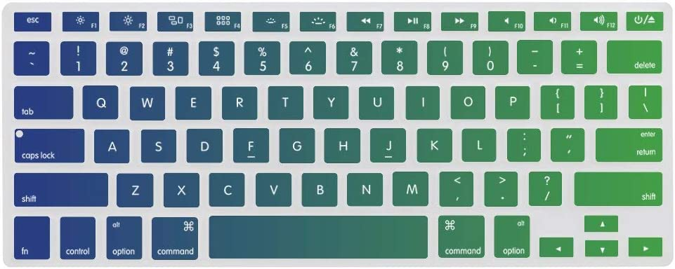 Keyboard Cover Skin for MacBook Meridian Washable Silicone Keyboard Skin,13.3 inches