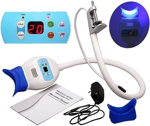 Zgood Cold LED Light Lamp Bleaching Lamp Bleaching Accelerator for Table Desk: Amazon.co.uk: Lighting