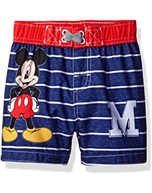 Disney Baby Little Boys' Mickey Mouse Infant Swim Trunk