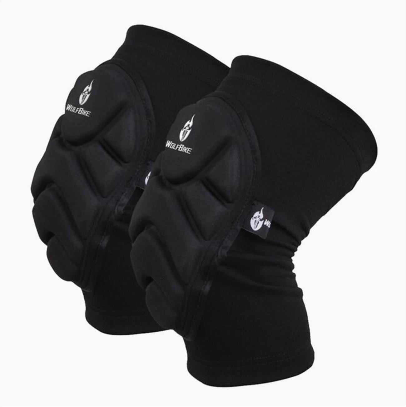WOSAWE Rolling kneepad downhill movement padded compression leg sleeve