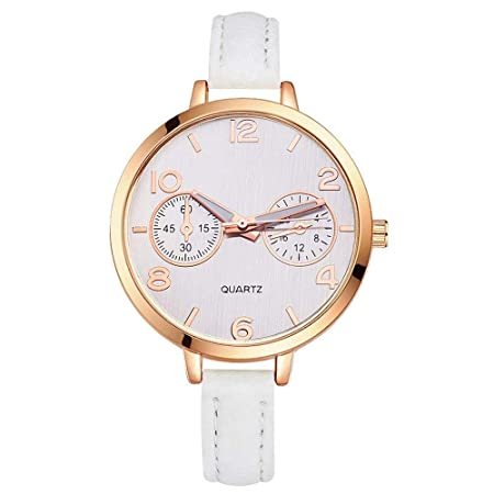 GSKTY Grandes Relojes para Mujer Relojes de Hora Top Marca Cuarzo ...