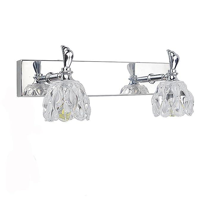 17 opinioni per ZHMA 6W LED specchio per trucco a specchio, 600LM, Applique da parete per bagno,
