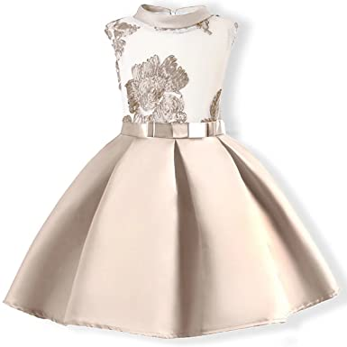 Amazon.com: Oukaiyi Baby Girl Dress Party Wedding Flower Dresses ...