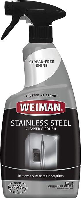 Amazon.com: Weiman - Limpiador y abrillantador de acero ...