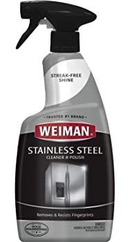 Weiman Stainless Steel Cleaner And Polish Grill Cleaner