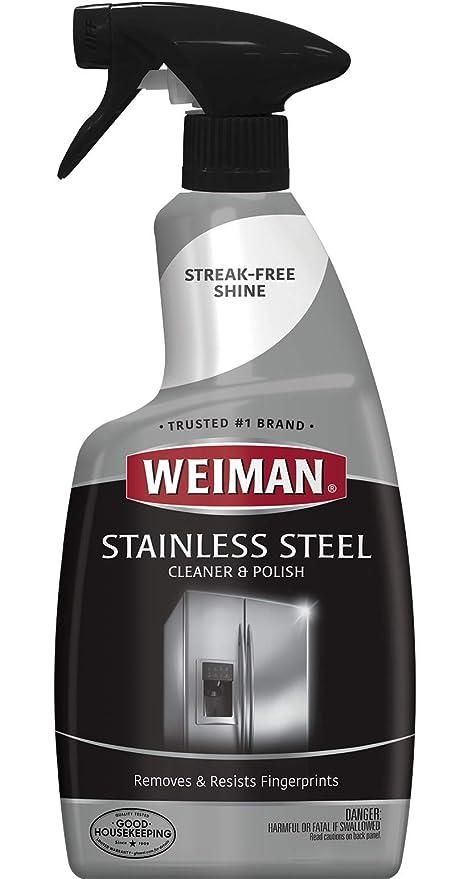 Amazon.com: Weiman Limpiador y pulidor de acero inoxidable ...
