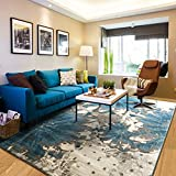 Decorative rugs modern carpet rectangle mats for bedroom living room study simple mediterranean nordic chinese restaurant bedside-A 160x230cm(63x91inch)