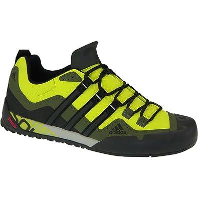 adidas Terrex Swift Solo hiking shoes Gentlemen green black Size 42 2015 ec9df046a