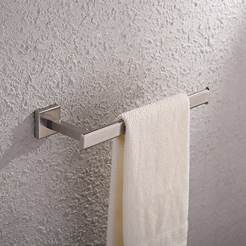 KES Bath Towel Holder Hand Towel Ring Hanging Towel Hanger B