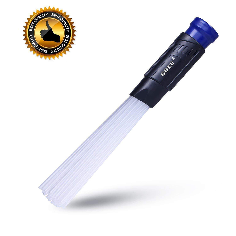 Vacuumax, Testina Universale per Aspirapolvere Dust Spazzola Duster Strumenti di Pulizia Aspirapolvere Accessori per Presa d'aria/Tastiere/Cassetti/Auto/Artigianato/Gioielli/Piante/Den-GOEU