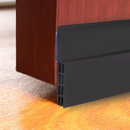 Petift Under Door Sweep Weather Door Draft Stopper Pest Proof Door Noise  Stopper U0026 Soundproofing Door