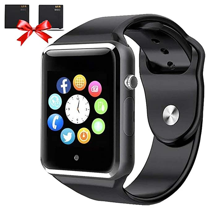 2ceb41d224e62 Bluetooth Smart Watches - ANCwear Smart Watch for Android Phones with SIM  Card Slot Camera