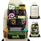 Extra Large Backseat Car Organizer - Comes with Kick Mat - Baby Toy Storage