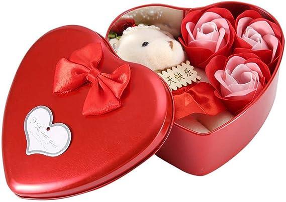 Caja de Hierro en Forma de Corazón Romántico para el Día de San ...