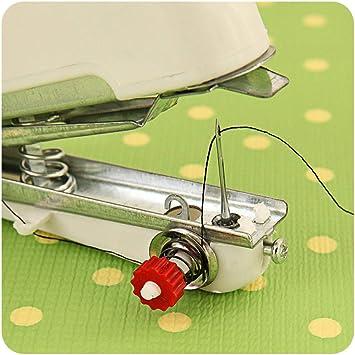 La Máquina De Coser Mini Bordadora Multifunción Pequeña Es Simple ...
