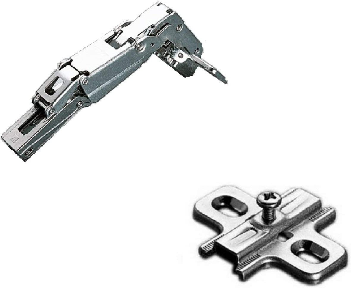 Salice cerniera art C2 AF//A99 a 165° per ante pensili mobili chiusura automatica