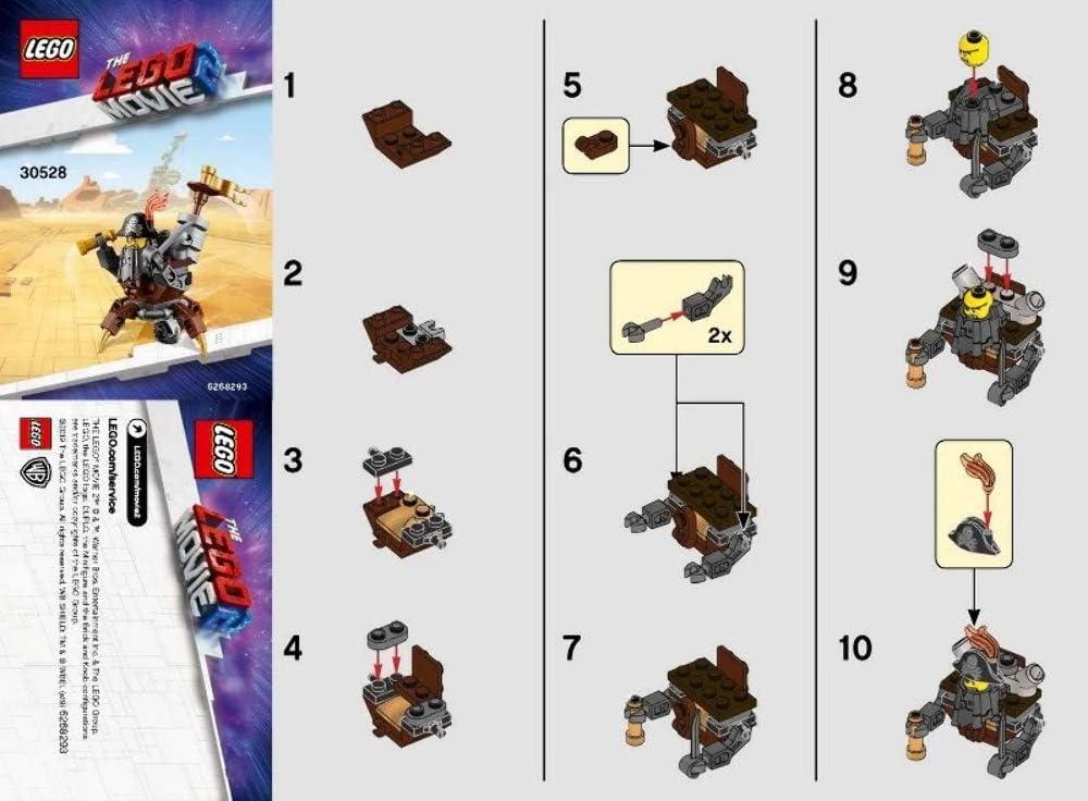 Lot of 10 New Sealed party favors Lego 30528 Mini Master-Building MetalBeard