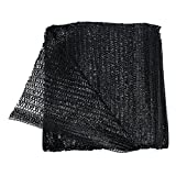 40% Black 6.5'x16' Sun Mesh Shade Sunblock Shade UV Resistant Net For Garden Flower Plant
