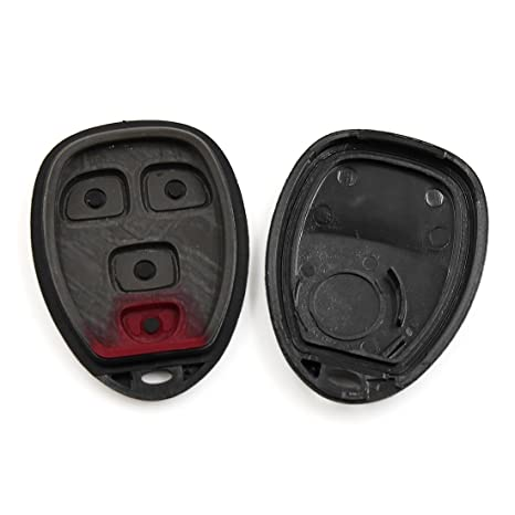 uxcell/® 2pcs New 3 Buttons Key Fob Remote Control Case Shell Replacement 04686481 for 2001-2005 Dodge