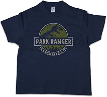 Urban Backwoods Park Ranger Niños Chicos Kids T-Shirt