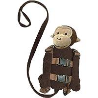 Playette 2 in 1 Harness Buddy Monkey, Brown