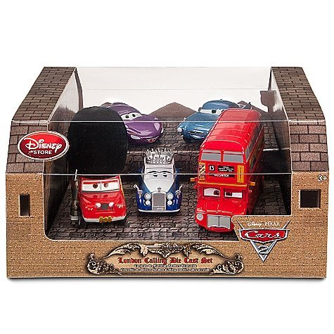 Disney / Pixar CARS 2 Movie Exclusive Die Cast 5Pack London Calling Set Exclusive Cars! ()