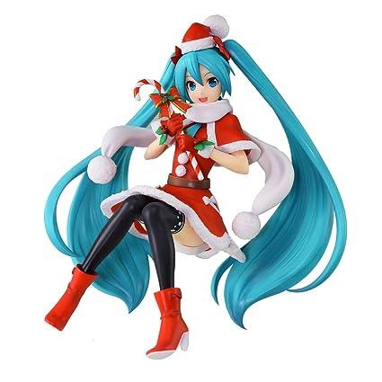Hatsune Miku Christmas 2018.Sega Hatsune Miku Super Premium Action Figure Christmas 2018 6 7