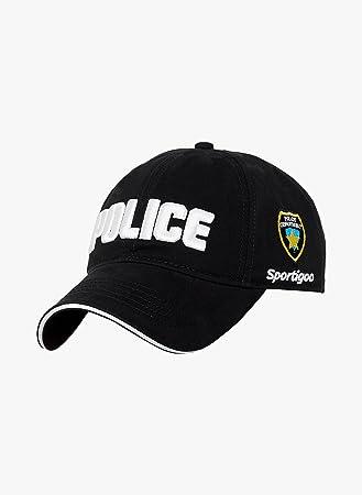 08ddd5024866 Buy Sportigoo Police Solid Cap-Black Online at Low Prices in India ...