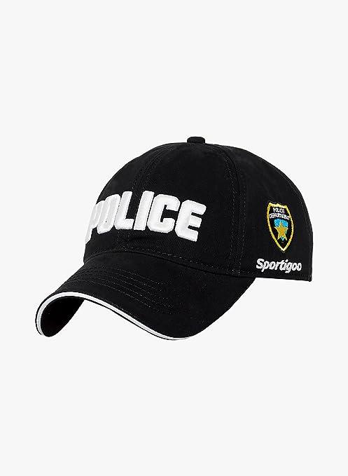 baec01dce51 Buy Sportigoo Police Solid Cap-Black Online at Low Prices in India ...