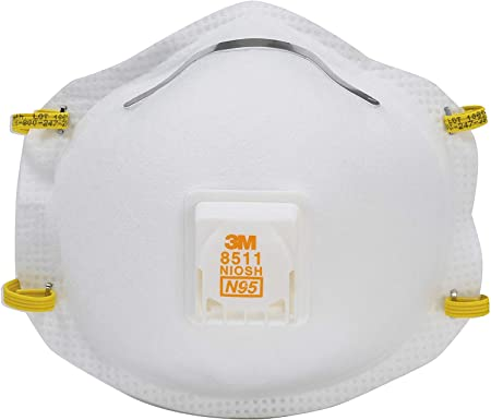 3m 8511 n95 particulate respirator with breather valve