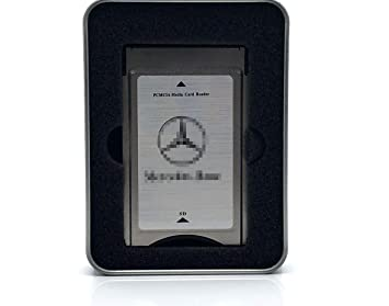 Mercedes Benz Comand PCMCIA adaptador multi Card Reader w212 s212 clase hasta 32gb