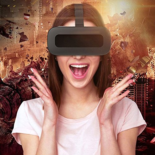 zhang With Eye Protection VR Headset 3D Glasses, 360 HD Immersive Virtual Reality Helmet, Video Game Controller Iphone 7 6 6S Plus, Samsung S6 Vr One Machine Wifi Game Machine 3D Theater,32Gtfcard
