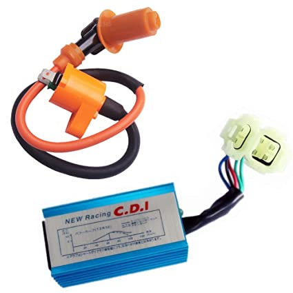 New Gy6 Cdi & Ignition Coil & Racing Spark Plug 50cc 125cc 150cc Scooter Atv Quad Atv,rv,boat & Other Vehicle Atv Parts & Accessories
