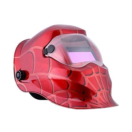 Mascara de soldador - SODIAL(R) Mascara de soldador profesional Casco de soldadura de