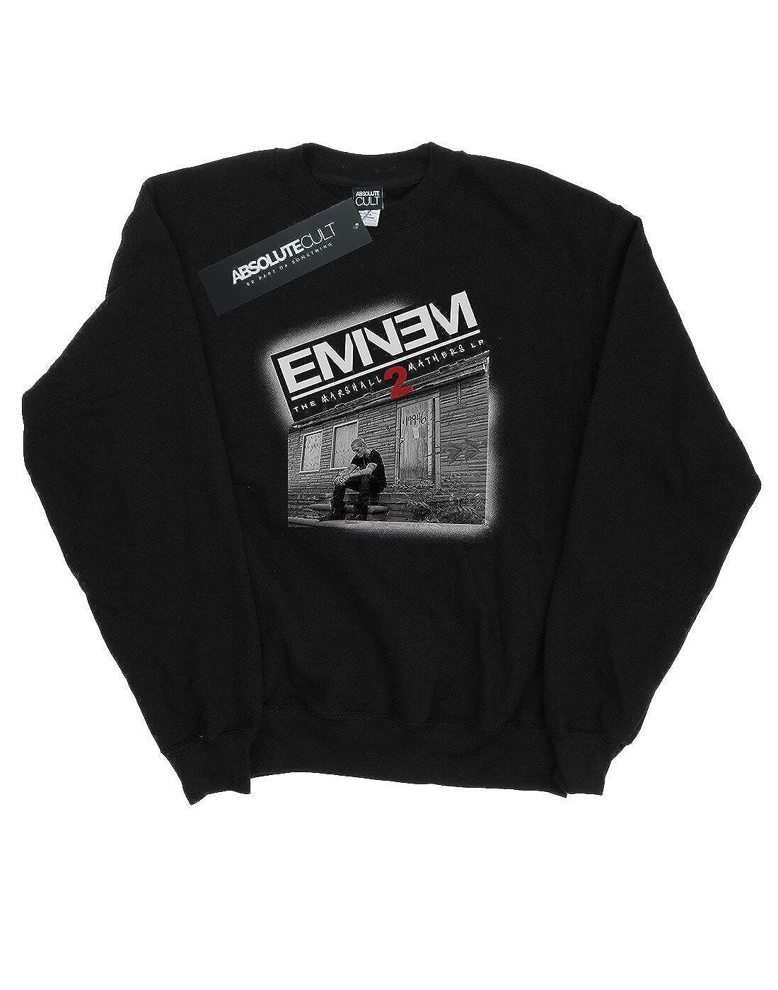 Eminem Hombre Marshall Mathers 2 Camisa De Entrenamiento
