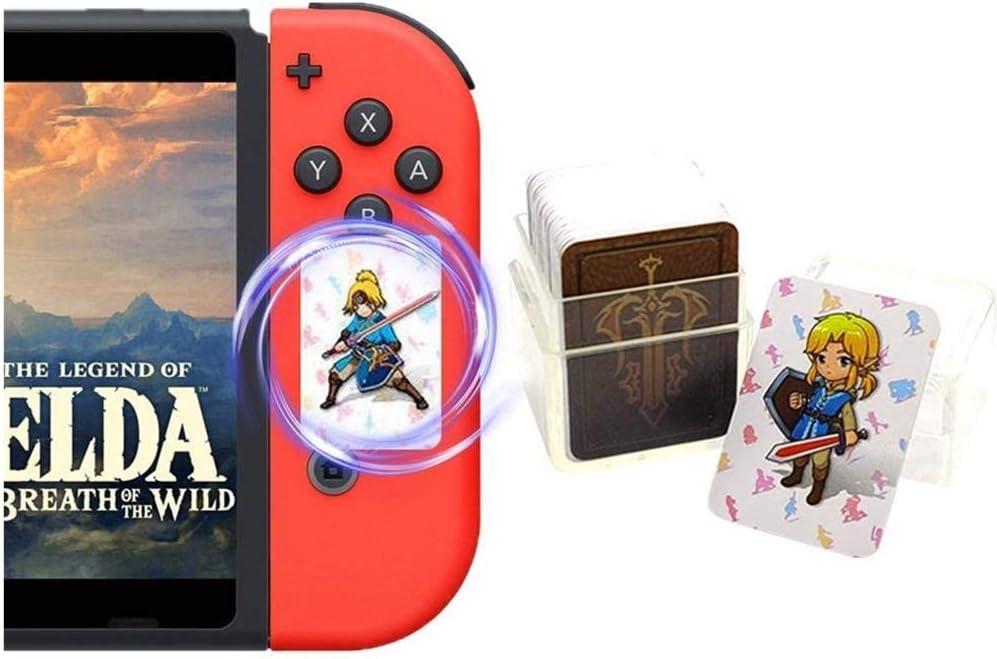 Amazon Com Newest Version 24pcs The Legend Of Zelda Breath Of The Wild Nfc Cards Link S Awakening Zelda Botw Game Rewards Cards Compatible With Switch Lite Wii U Electronics
