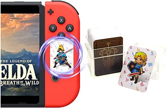 Tarjetas de premios The Legend of Zelda Breath of The Wild NFC, el despertar de Link Zelda Botw Game de 24 piezas Switch/Lite Wii U vídeo juego: Amazon.es: Juguetes y juegos