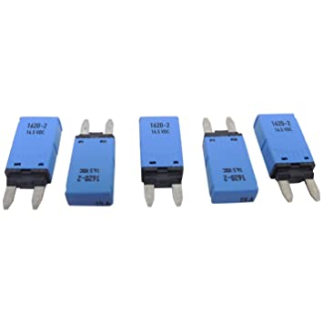 1620-2 Automotive Circuit Breaker 5-Pack of