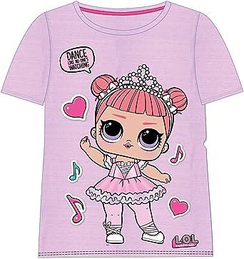 Cerdá Camiseta Manga Corta LOL Niñas: Amazon.es: Ropa y accesorios