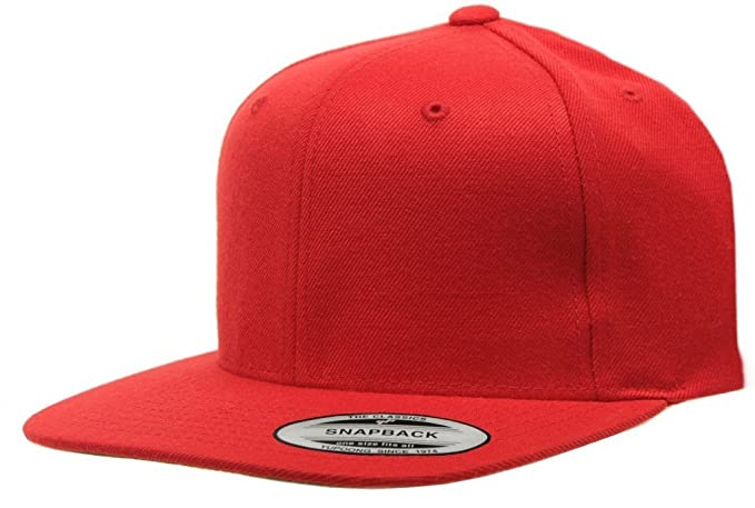 Image Unavailable. Image not available for. Color  Original Yupoong Pro- style Wool Blend Snapback Blank Hat Baseball ... ce24d97eb966