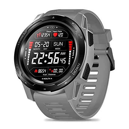 Zeblaze Vibe 5 Smart Watch,IP67 Waterproof Smartwatch Fitness Heart Rate Monitor Sleep Monitor Steps Counter Call Remind Pedometer Activity Tracker ...