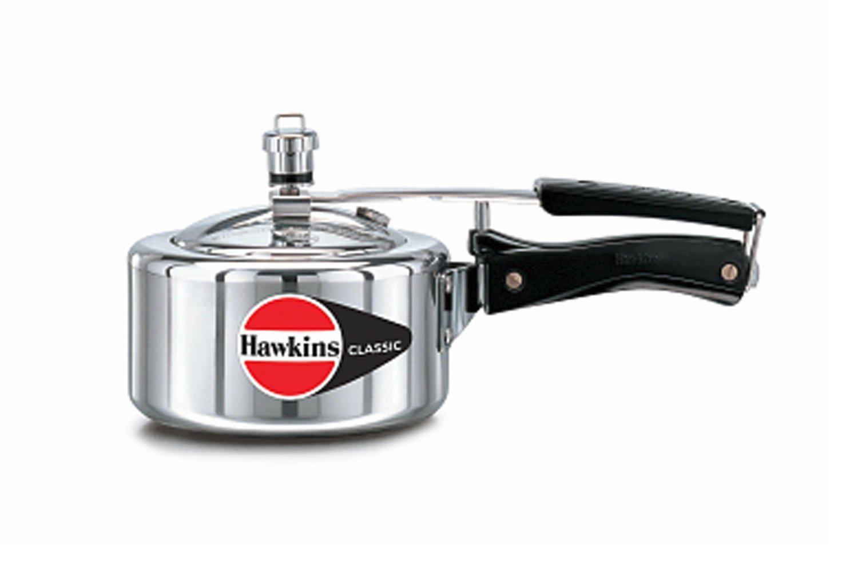 Hawkins HA15L Classic Aluminum Pressure Cooker, 1.5-Liter
